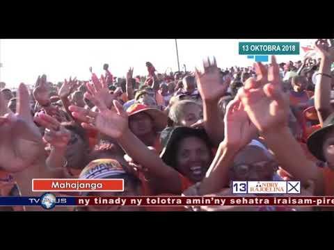 VAOVAO DU 13 OCTOBRE 2018 BY TV PLUS MADAGASCAR