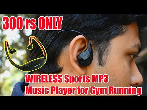 Micomy Wireless Sports MP3 Music Player for Gym Running Jogging