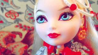 Stop motion #26 Monster high  Ever after high   Показ мод
