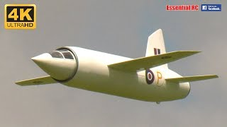 Supersonic 1940s MILES M.52 RC Electric Ducted Fan JET [*UltraHD and 4K*]