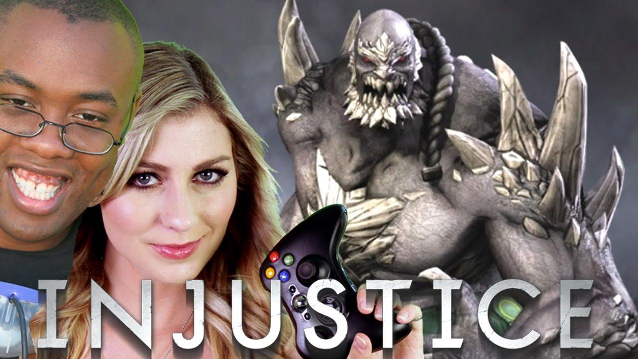 injustice villains 3 doomsday vs solomon grundy youtube
