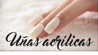 Cómo hacer uñas acrílicas en casa
