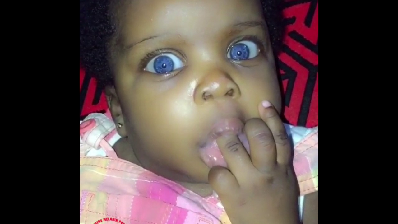 blue eyed black girl youtube