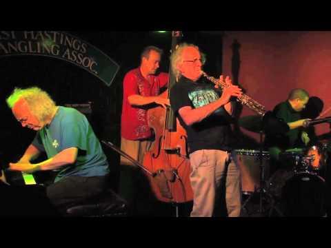 TREVOR WATTS - Quartet playing in Hastings Sept 2012