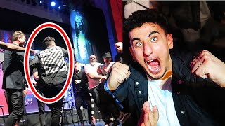 AnEsonGib STAGE INVASION (KSI vs  Logan Paul 2 UK Press Conference)