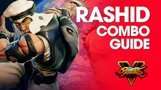 Download Video Street Fighter V: RASHID Combo Guide MP3 3GP MP4