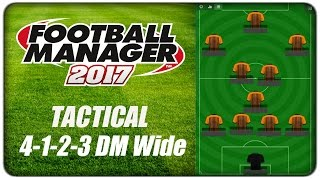 [tactics] fm17 :: 4-1-2-3 dm wide - grey wolf, football manager 2017 #fm17