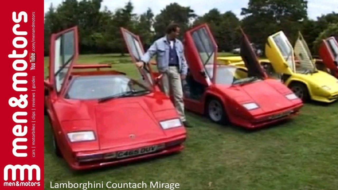 Lamborghini Countach Mirage Youtube