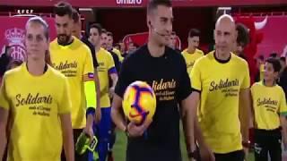 Resumen RCD Mallorca 4-1 Selección balear. Partido benéfico por el Levante mallorquín