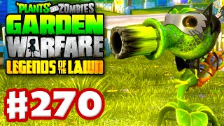 Plants vs. Zombies: Garden Warfare - Gameplay Walkthrough Part 270 - Spooky Scary Peashooter! (PC)