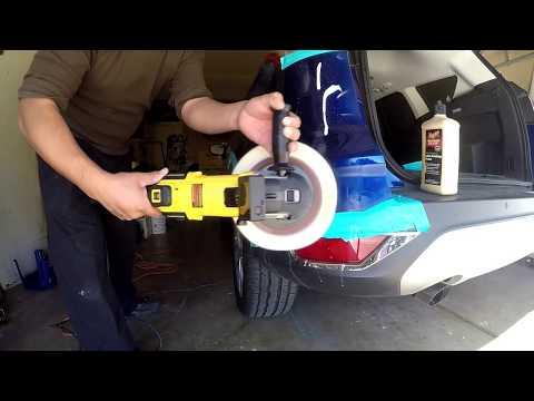 Cómo pulir un carro que fue pintado (parte repintada)