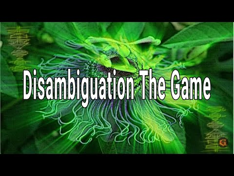 Disambiguation The Game