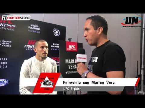 UFC Argentina: Media Day - Entrevista a Marlon Vera (Ecuador)