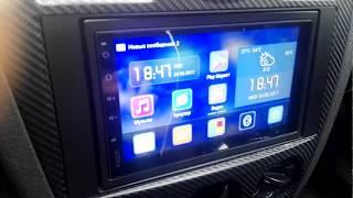 обзор автомагнитолы EZONETRONICS RM CT-0009 2DIN Android 5.1.1 (1 ч.)