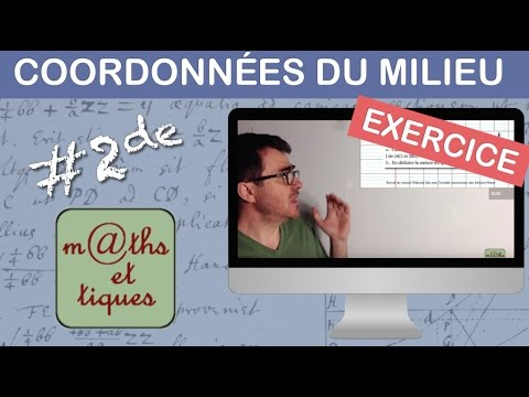 EXERCICE : Calculer les coordonnées d