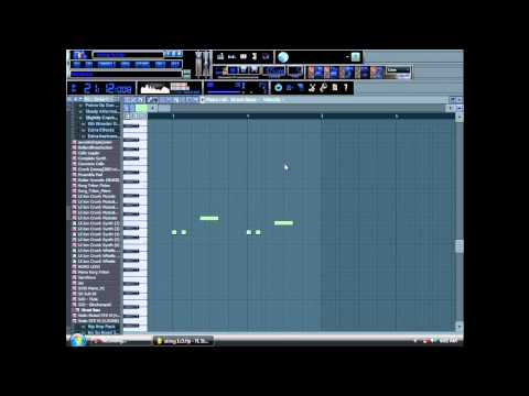 FL Studio 9 Imma Shine Remake Tutorial  McFeeters Productions