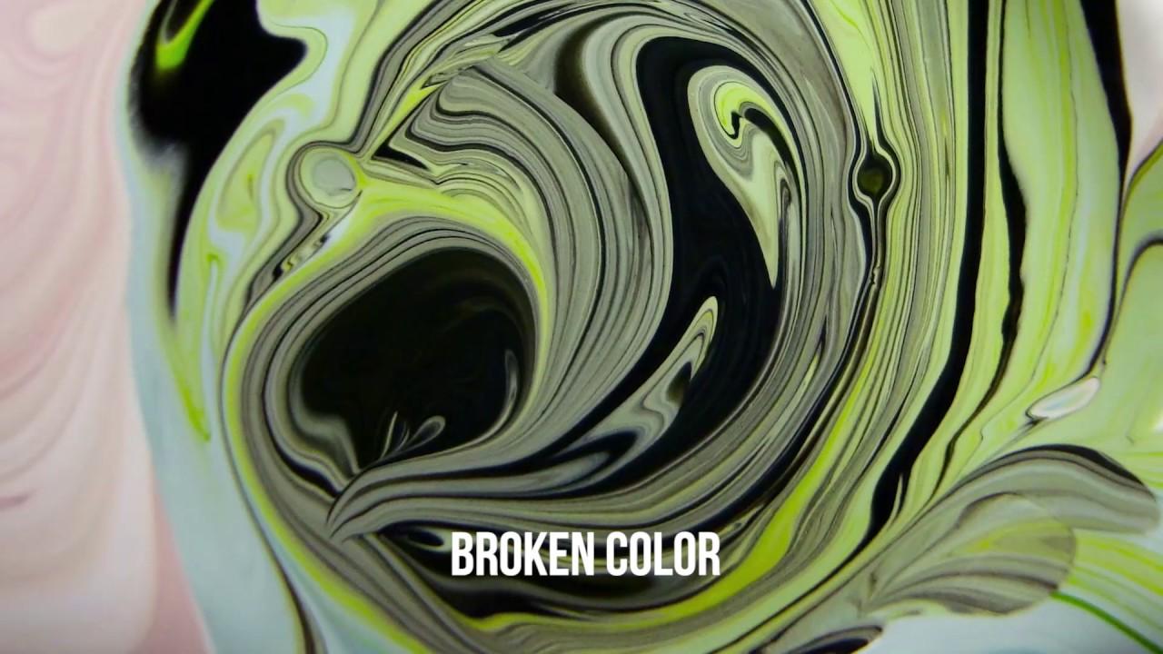 Color of art definition - Broken Color Art Vocab Definition