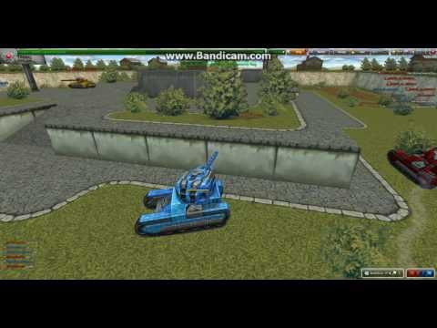 Tanki Online 2v2 Sandbox with Josh