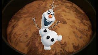 Cake Olaf Frozen  ❄️ТОРТ ОЛАФ из ХОЛОДНОЕ СЕРДЦЕ