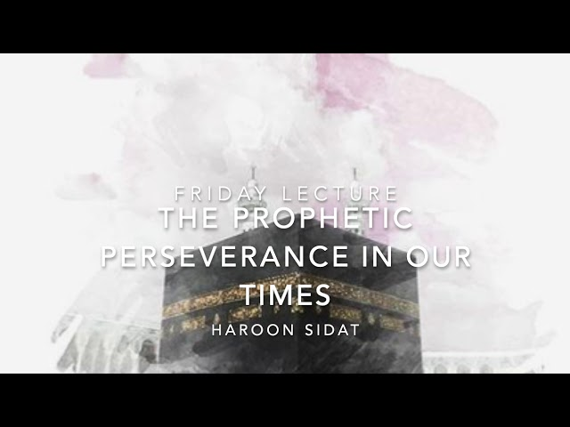 Prophetic Perseverance for Our Times