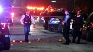 Series 02, Spring in Chicago: 6 Killed, 32 Wounded in Weekend Shootings, May 18,19, 20, 2018