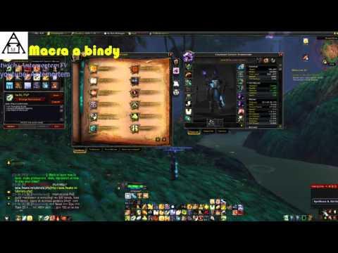 World of Warcraft Macra a Bindy