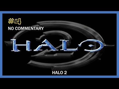Halo 2 Walkthrough - Mission 04 (Outskirts) HD 1080p XB No Commentary