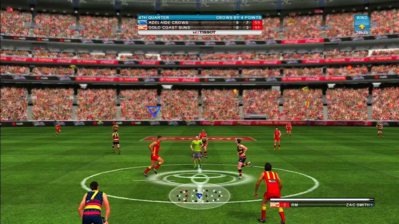 Afl Live 2 Gcs Career Grand Final Adelaide Vs Gold