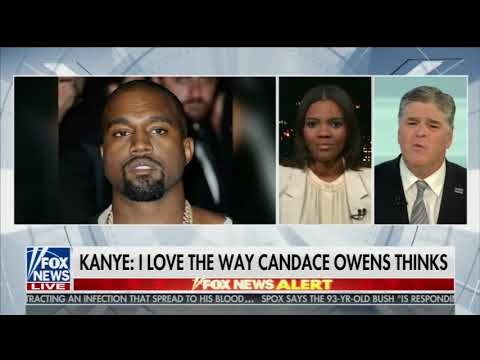 Kanye West's TWEET about Candace Owens + Hannity interview