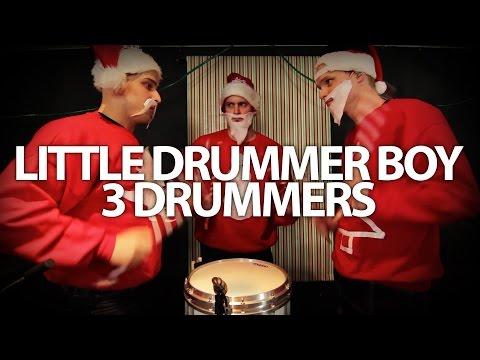 🎵 Little Drummer Boy - 3 Drummers 🎄