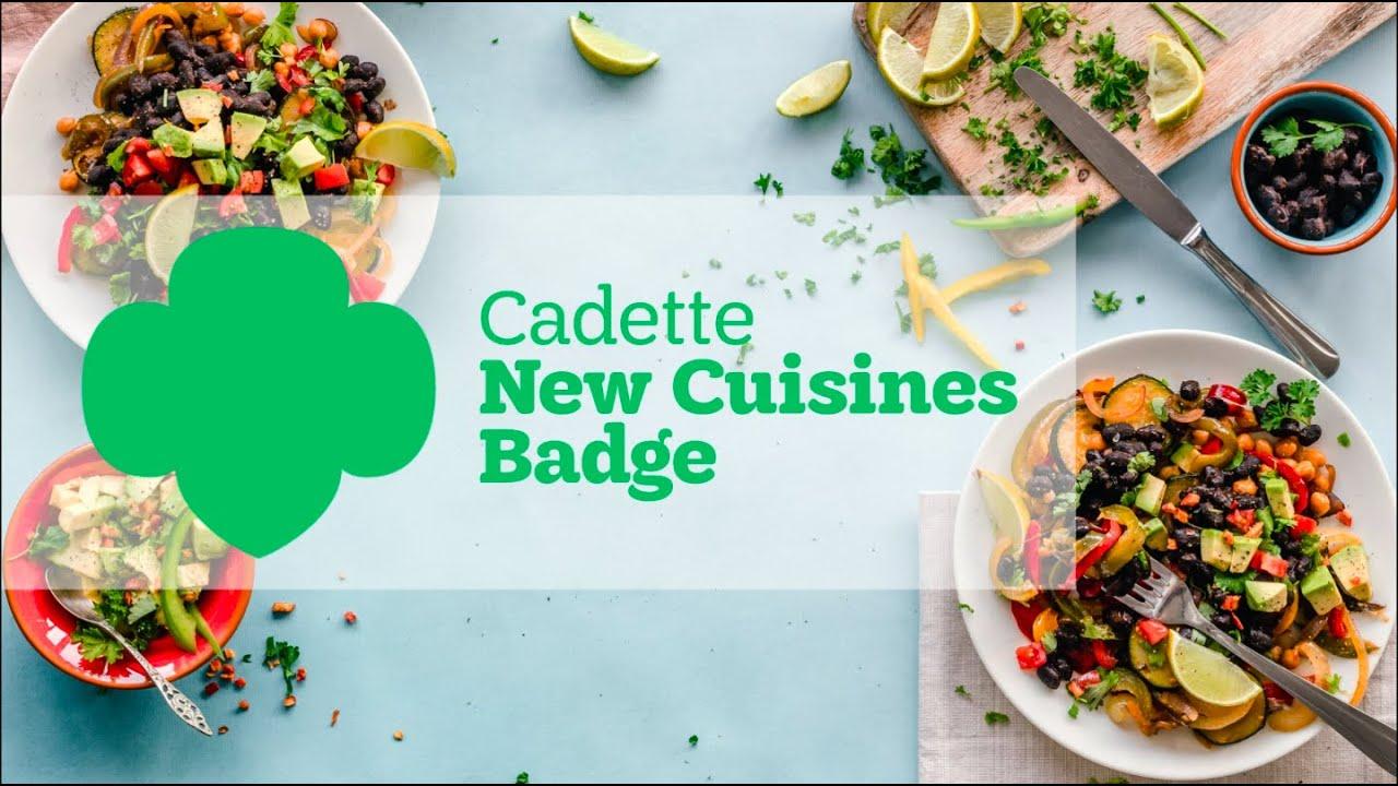 Design New Cuisine Badge Ideas