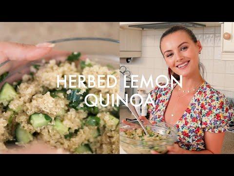 HERBED LEMON QUINOA 3/3 End of Summer Recipes