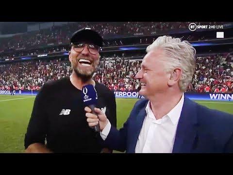 КЛОПП вычудил в прямом эфире после победы в Суперкубке УЕФА!