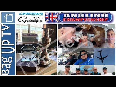 *Preview* UK Angling Championship 2018 - Round 1 at Gold Valley Lakes - BagUpTV - Live Match Footage