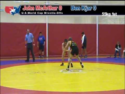 Freestyle OTC: John McArthur vs. Ben Kjar