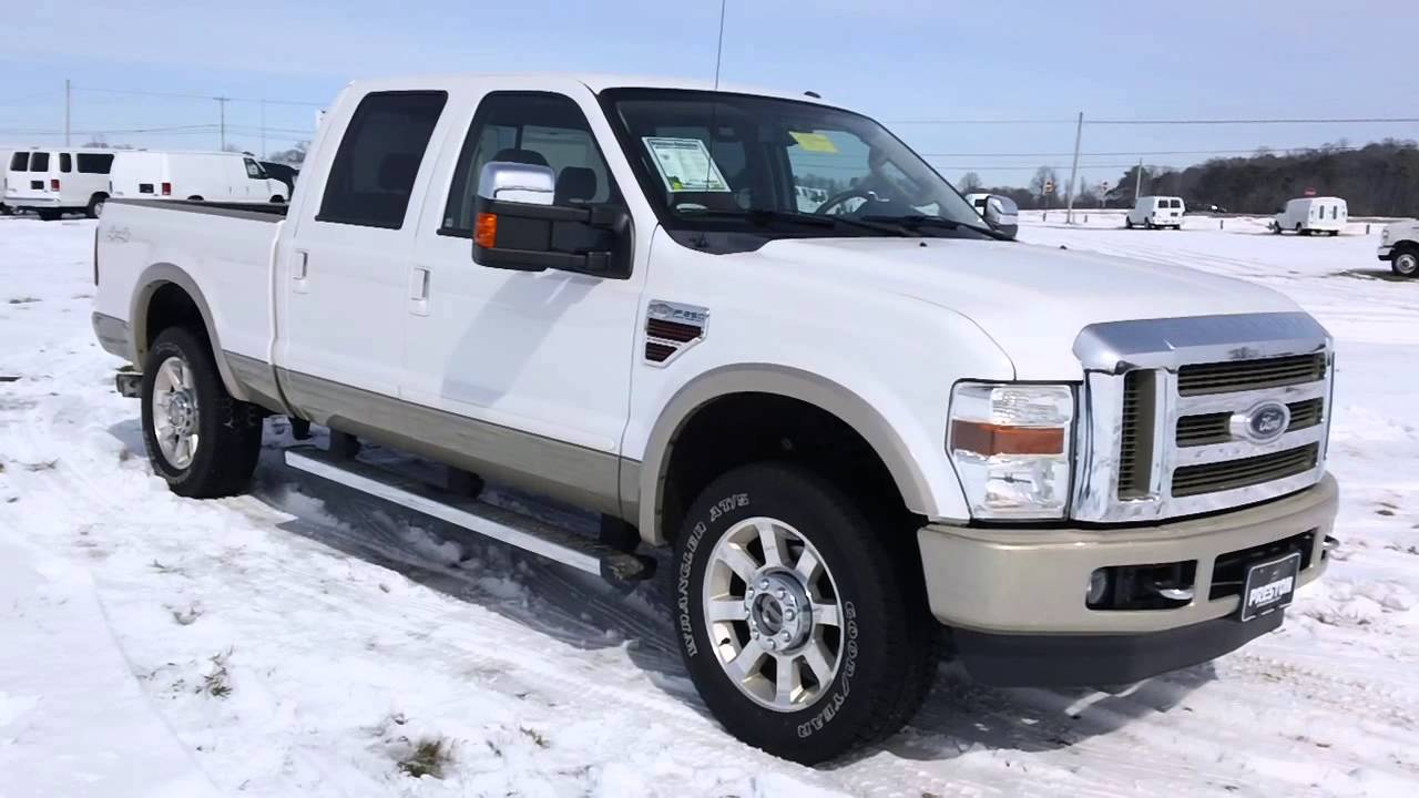 2010 ford f250 diesel 4wd king ranch used trucks for sale in maryland by ford dealer b7123 youtube