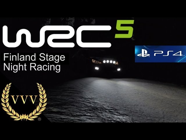 WRC 5 - Finland Night Racing