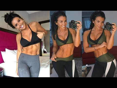 Ainsley Rodriguez – Sexy Fitness Model / Fast Weight Lose & Abs, glutes Workout