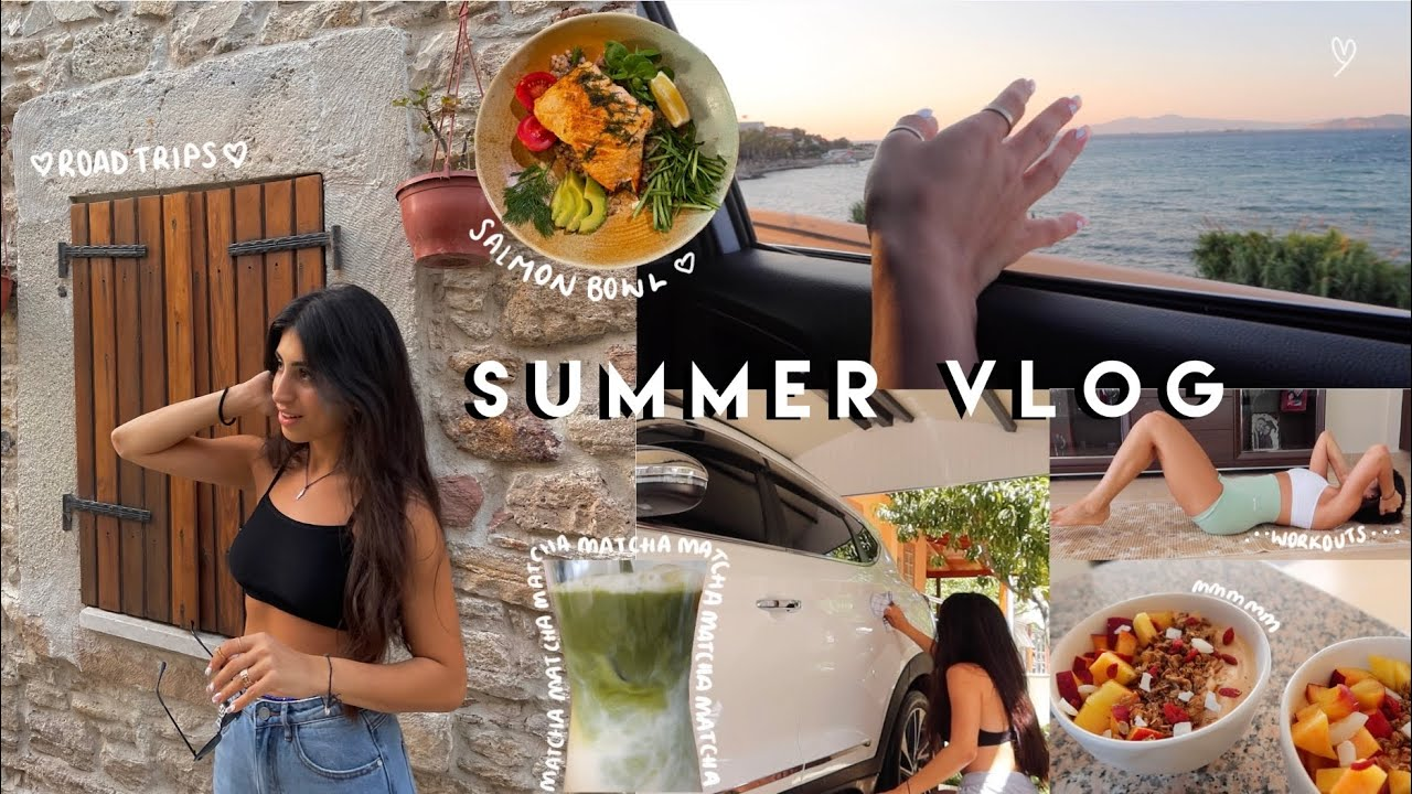 Summer Days In My Life   Workouts, Matcha, Road Trips, Car Washing +more!  