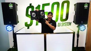 🔥 Complete Pro DJ System, under $1500 | How to  Setup Your Mobile DJ System
