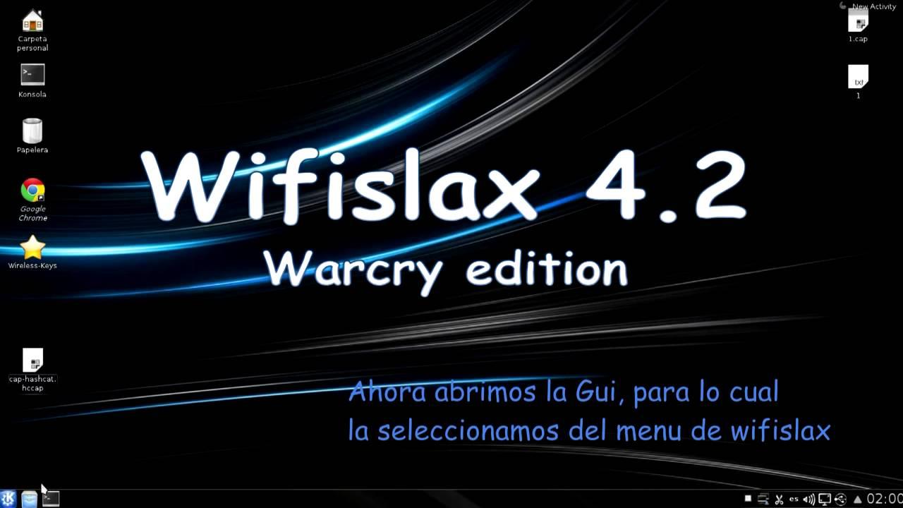 gpu cracking en Wifislax 4 2