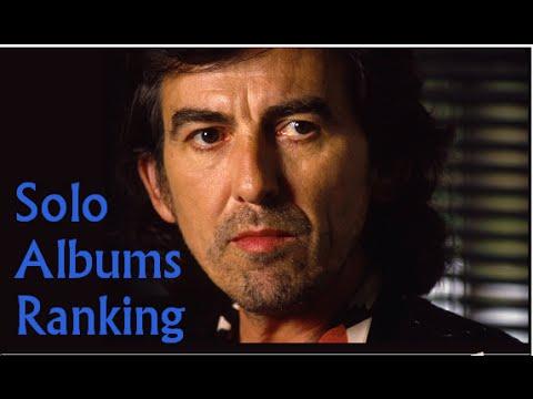 George Harrison Album Ranking