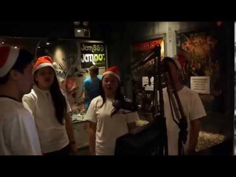 Alaska Crema Caroling at Jam 88 3