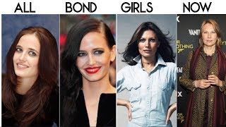 10 of Our Favorite Bond Girls Then and Now
