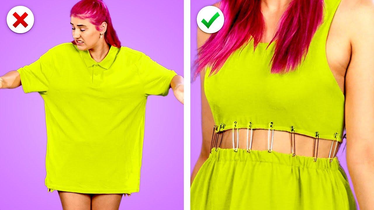 Transform It! 11 Smart DIY Clothing And Fashion Hack Ideas image