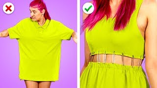 Transform It! 11 Smart DIY Clothing And Fashion Hack Ideas Video
