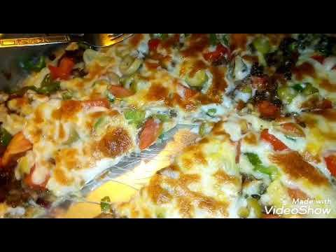 صورة  طريقة عمل البيتزا طريقة عمل البيتزا🍕 احلي من المحلات وتحدي 💪🙅 طريقة عمل البيتزا من يوتيوب