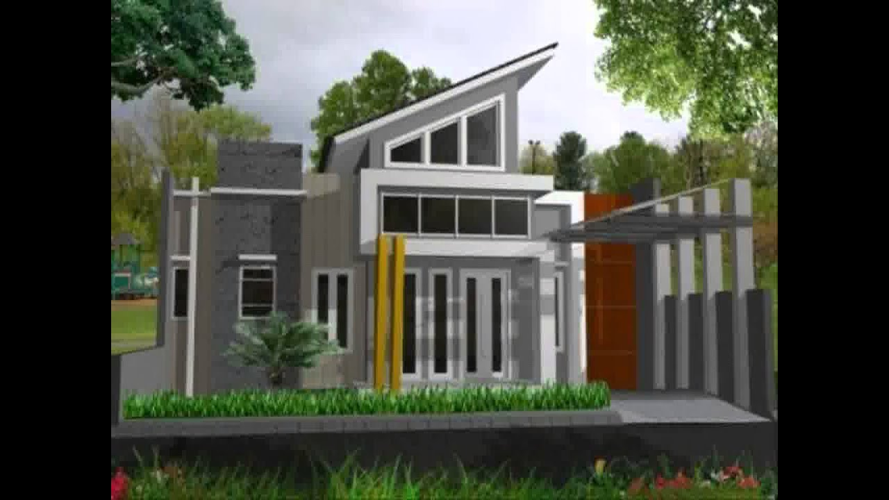 Desain Rumah Minimalis 2 Lantai Ukuran 7x12 Yg Sedang Trend Saat