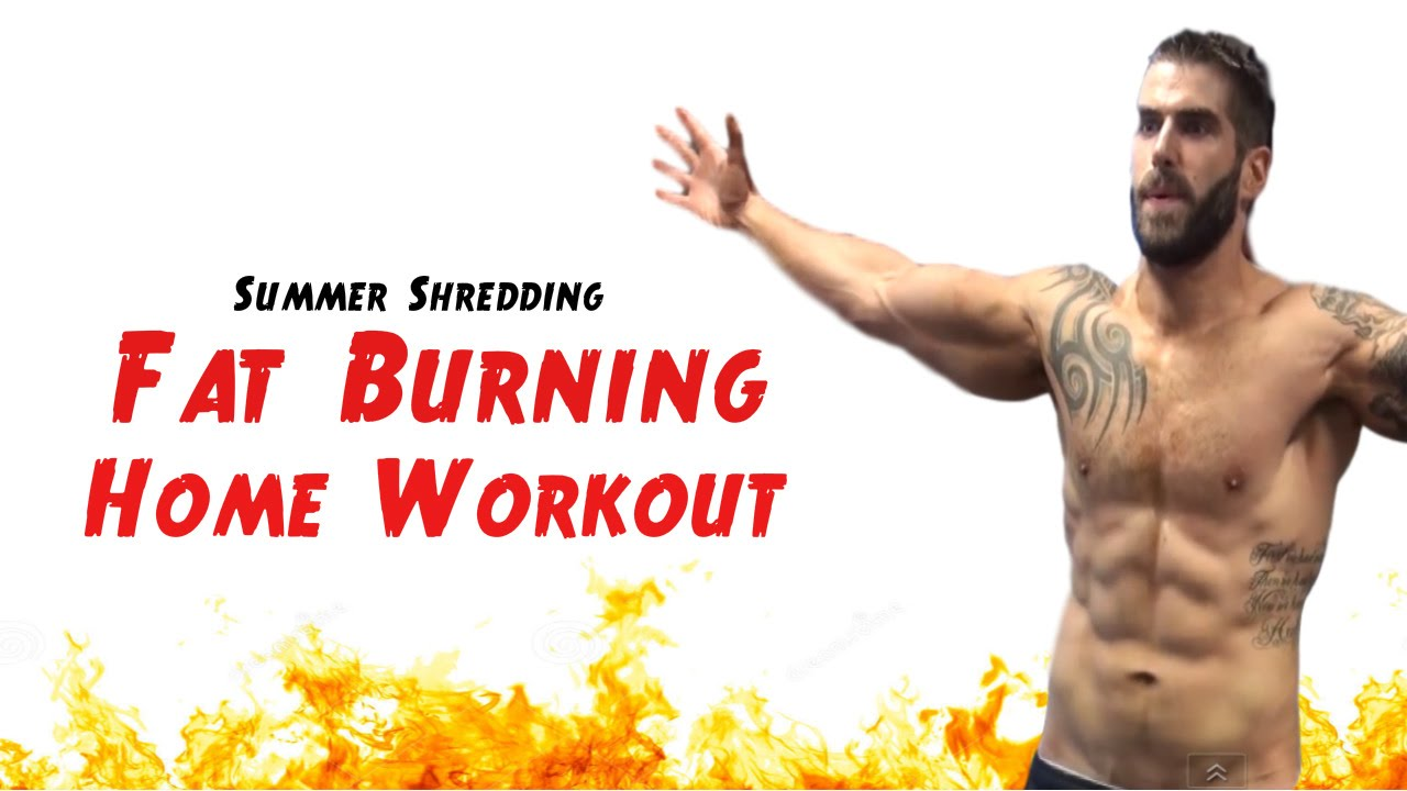 15 Minute Real-Time Fat Burning Home Workout - No Equipment Needed