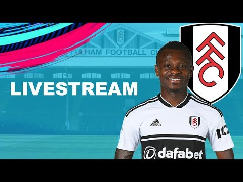 ULTIMATE DIFFICULTY CAREER MODE STREAM | FULHAM FIFA 19